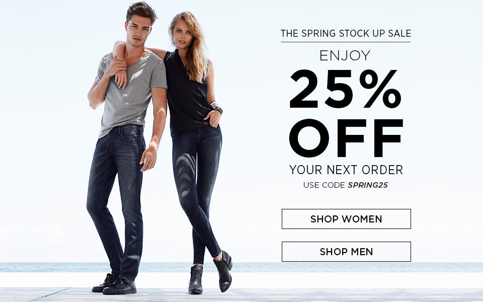 spring denim sale